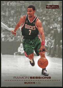 2008/09 Upper Deck SkyBox Ruby #89 Ramon Sessions /50