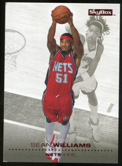 2008/09 Upper Deck SkyBox Ruby #101 Sean Williams /50