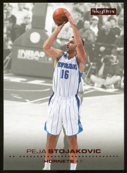 2008/09 Upper Deck SkyBox Ruby #105 Peja Stojakovic /50