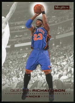 2008/09 Upper Deck SkyBox Ruby #113 Quentin Richardson /50