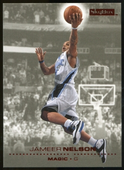 2008/09 Upper Deck SkyBox Ruby #118 Jameer Nelson /50