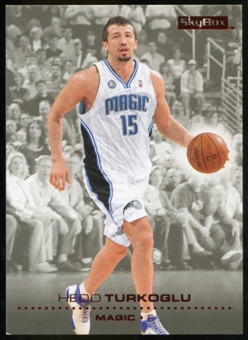 2008/09 Upper Deck SkyBox Ruby #119 Hedo Turkoglu /50