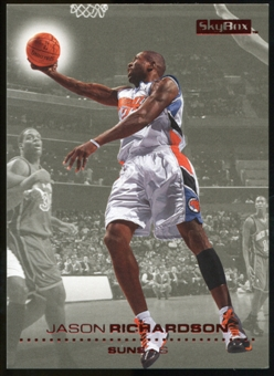 2008/09 Upper Deck SkyBox Ruby #127 Jason Richardson /50