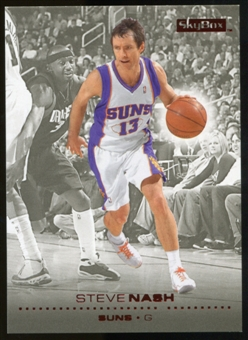 2008/09 Upper Deck SkyBox Ruby #129 Steve Nash /50
