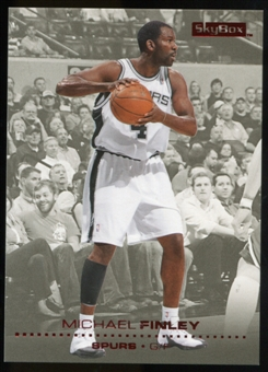 2008/09 Upper Deck SkyBox Ruby #145 Michael Finley /50