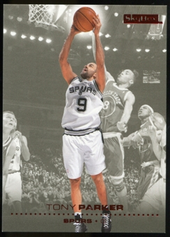 2008/09 Upper Deck SkyBox Ruby #147 Tony Parker /50