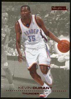 2008/09 Upper Deck SkyBox Ruby #149 Kevin Durant /50