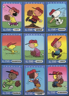 Peanuts All Stars Ziploc Promotional Complete Set Snoopy Charlie Brown Lucy