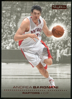 2008/09 Upper Deck SkyBox Ruby #154 Andrea Bargnani /50
