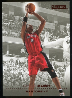 2008/09 Upper Deck SkyBox Ruby #155 Chris Bosh /50