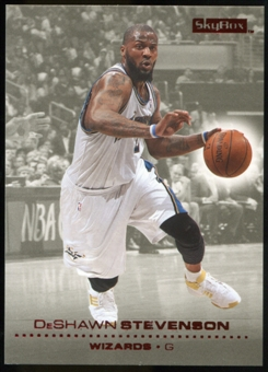 2008/09 Upper Deck SkyBox Ruby #169 DeShawn Stevenson /50
