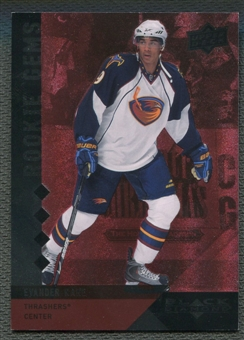 2009/10 Black Diamond #219 Evander Kane Rookie Gems Ruby #055/100