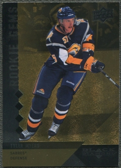 2009/10 Black Diamond #205 Tyler Myers Rookie Gems Gold #07/10
