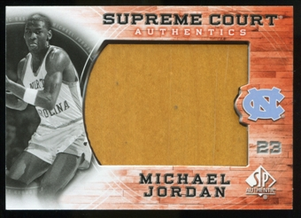 2010/11 Upper Deck SP Authentic Michael Jordan Supreme Court Floor #11 Michael Jordan Uncommon