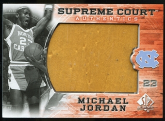 2010/11 Upper Deck SP Authentic Michael Jordan Supreme Court Floor #12 Michael Jordan Uncommon