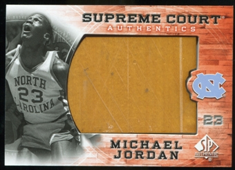 2010/11 Upper Deck SP Authentic Michael Jordan Supreme Court Floor #13 Michael Jordan Uncommon