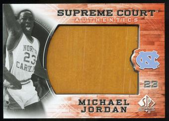 2010/11 Upper Deck SP Authentic Michael Jordan Supreme Court Floor #14 Michael Jordan Uncommon