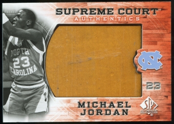 2010/11 Upper Deck SP Authentic Michael Jordan Supreme Court Floor #16 Michael Jordan Uncommon