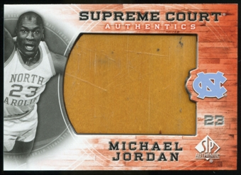 2010/11 Upper Deck SP Authentic Michael Jordan Supreme Court Floor #17 Michael Jordan Uncommon
