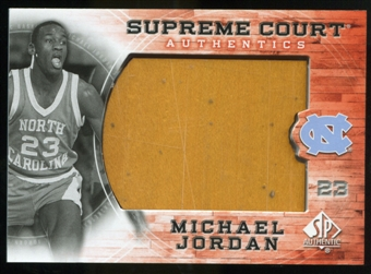 2010/11 Upper Deck SP Authentic Michael Jordan Supreme Court Floor #18 Michael Jordan Uncommon