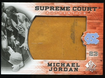 2010/11 Upper Deck SP Authentic Michael Jordan Supreme Court Floor #19 Michael Jordan Uncommon