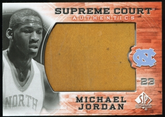 2010/11 Upper Deck SP Authentic Michael Jordan Supreme Court Floor #20 Michael Jordan Uncommon