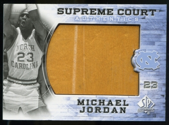 2010/11 Upper Deck SP Authentic Michael Jordan Supreme Court Floor #2 Michael Jordan Common