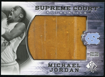 2010/11 Upper Deck SP Authentic Michael Jordan Supreme Court Floor #21 Michael Jordan Rare