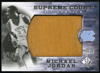 2010/11 Upper Deck SP Authentic Michael Jordan Supreme Court Floor #23 Michael Jordan Rare
