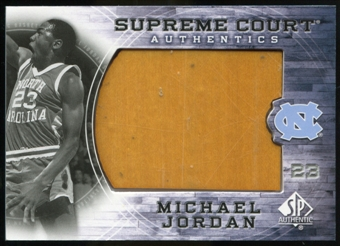 2010/11 Upper Deck SP Authentic Michael Jordan Supreme Court Floor #26 Michael Jordan Rare
