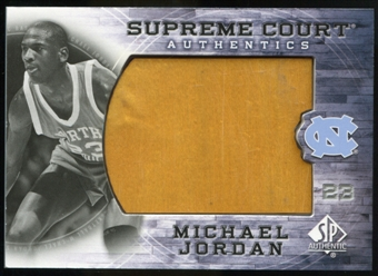 2010/11 Upper Deck SP Authentic Michael Jordan Supreme Court Floor #28 Michael Jordan Rare