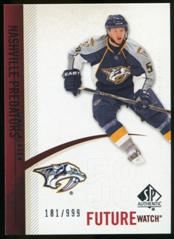 2010/11 Upper Deck SP Authentic #210 Linus Klasen RC /999