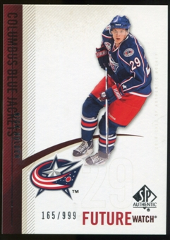 2010/11 Upper Deck SP Authentic #219 Nick Holden RC /999