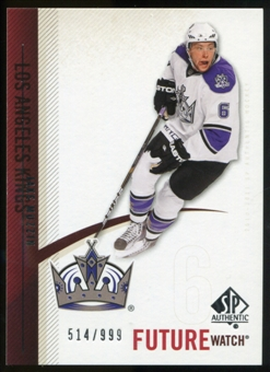 2010/11 Upper Deck SP Authentic #228 Jake Muzzin RC /999