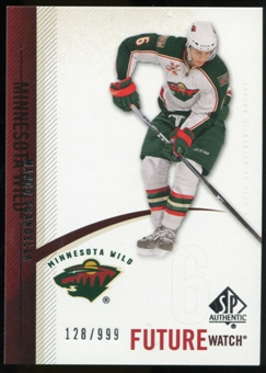2010/11 Upper Deck SP Authentic #229 Marco Scandella RC /999