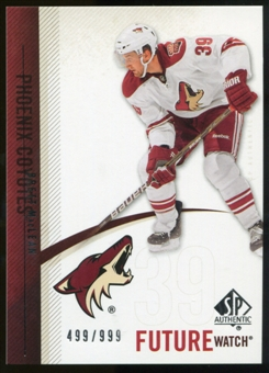 2010/11 Upper Deck SP Authentic #241 Brett MacLean RC /999