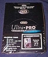 Ultra Pro Platinum 2 Pocket Pages  5x7 Photo ( 100 count box )