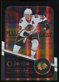 2011/12 Upper Deck O-Pee-Chee Black Rainbow #20 Patrick Sharp /100