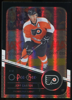 2011/12 Upper Deck O-Pee-Chee Black Rainbow #21 Jeff Carter /100