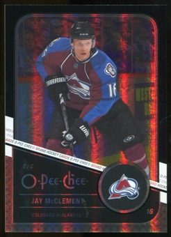 2011/12 Upper Deck O-Pee-Chee Black Rainbow #60 Jay McClement /100