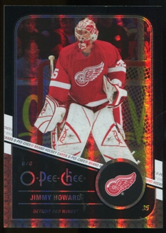 2011/12 Upper Deck O-Pee-Chee Black Rainbow #80 Jim Howard /100