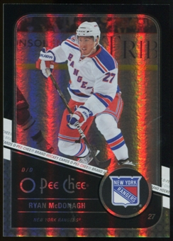 2011/12 Upper Deck O-Pee-Chee Black Rainbow #81 Ryan McDonagh /100