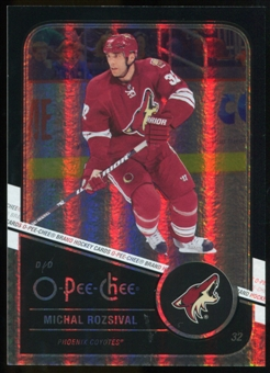 2011/12 Upper Deck O-Pee-Chee Black Rainbow #98 Michal Rozsival /100