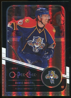 2011/12 Upper Deck O-Pee-Chee Black Rainbow #104 David Booth /100