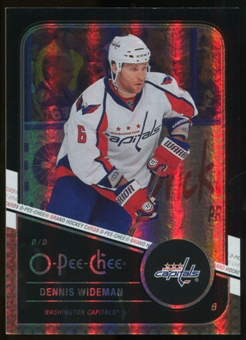2011/12 Upper Deck O-Pee-Chee Black Rainbow #113 Dennis Wideman /100