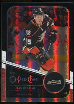 2011/12 Upper Deck O-Pee-Chee Black Rainbow #134 Ryan Getzlaf /100