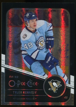 2011/12 Upper Deck O-Pee-Chee Black Rainbow #168 Tyler Kennedy /100