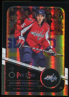 2011/12 Upper Deck O-Pee-Chee Black Rainbow #257 Mathieu Perreault /100
