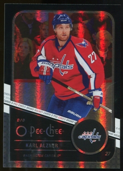 2011/12 Upper Deck O-Pee-Chee Black Rainbow #275 Karl Alzner /100