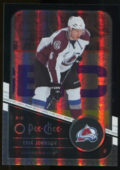 2011/12 Upper Deck O-Pee-Chee Black Rainbow #286 Erik Johnson /100